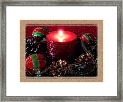 Let Your Light Shine Framed Print by Lucinda Walter
