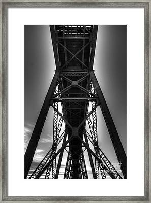 Lethbridge High Level Bridge 4 Framed Print by Bob Christopher