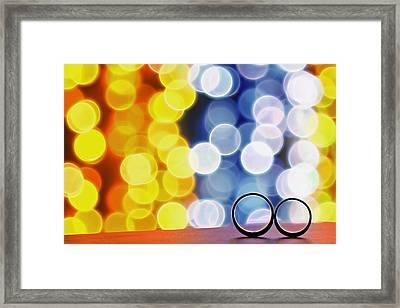 Let's Celebrate Framed Print by Suradej Chuephanich