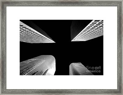 Let's Meet In The Middle Framed Print by Az Jackson
