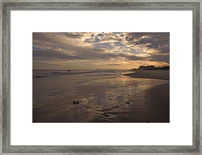 Let's Walk This Evening Framed Print by Betsy Knapp