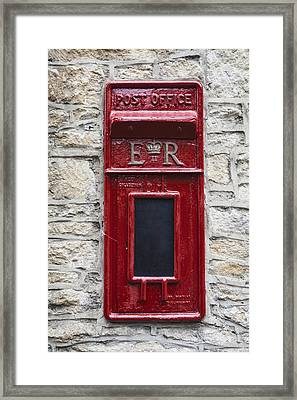 Letterbox Framed Print by Joana Kruse
