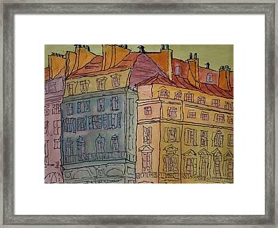L'europe  Framed Print by Oscar Penalber