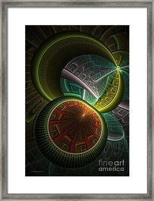 Levels 113 Framed Print by Deborah Benoit
