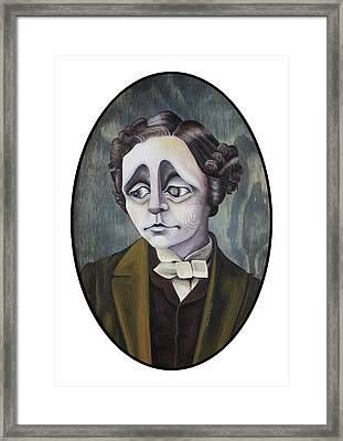Lewis Framed Print by Kelly Jade King