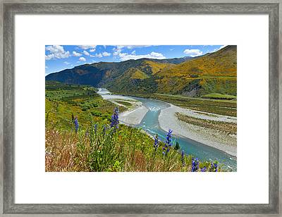 Lewis Pass Framed Print by Alexey Stiop