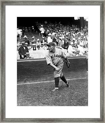 Lewis R. Hack Wilson Framed Print by Retro Images Archive