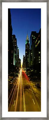 Lexington Avenue, Cityscape, Nyc, New Framed Print by Panoramic Images