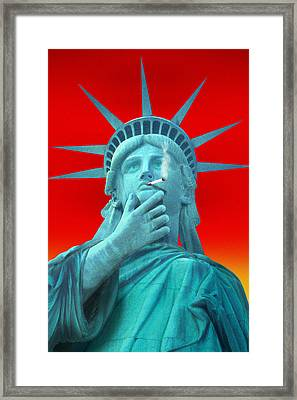 Liberated Lady - Special Framed Print by Mike McGlothlen