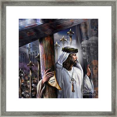 Liberation Beyond Comprehension1 Framed Print by Reggie Duffie