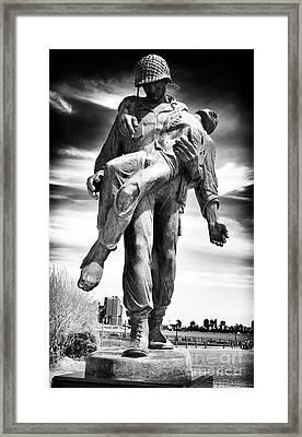 Liberation Framed Print by John Rizzuto