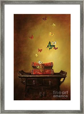 Liberation - Tibetan Dream Framed Print by Lori  McNee
