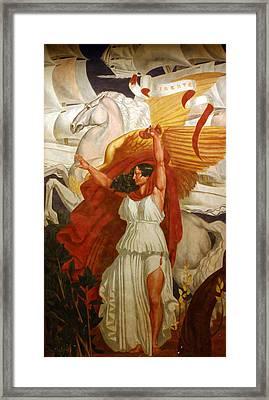 Liberte Framed Print by A Morddel