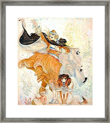 Liberty Bond Ad 1917 Framed Print by Padre Art
