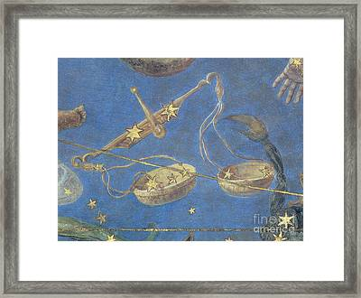 Libra Constellation Zodiac Sign 1575 Framed Print by Science Source