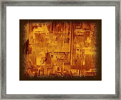 Library Afternoon Framed Print by Wendy J St Christopher