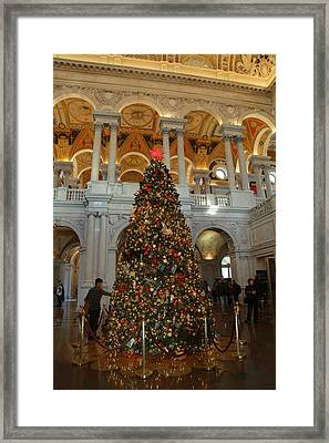 Library Of Congress - Washington Dc - 011310 Framed Print by DC Photographer