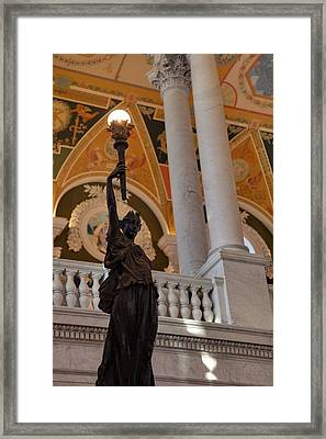 Library Of Congress - Washington Dc - 011311 Framed Print by DC Photographer