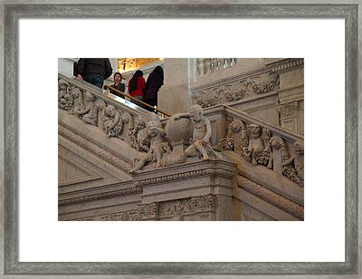 Library Of Congress - Washington Dc - 011313 Framed Print by DC Photographer