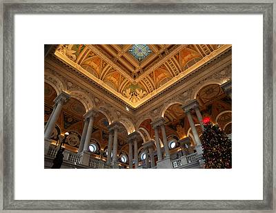 Library Of Congress - Washington Dc - 011314 Framed Print by DC Photographer