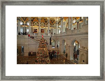 Library Of Congress - Washington Dc - 011315 Framed Print by DC Photographer