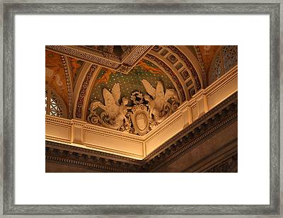 Library Of Congress - Washington Dc - 011316 Framed Print by DC Photographer