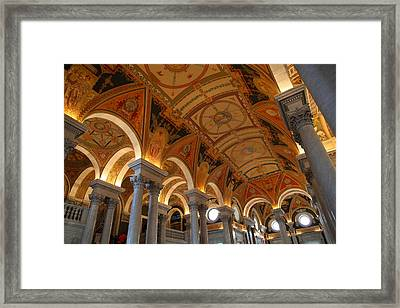 Library Of Congress - Washington Dc - 011317 Framed Print by DC Photographer