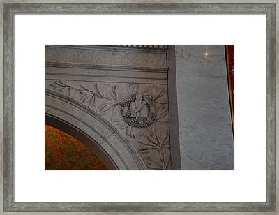 Library Of Congress - Washington Dc - 011319 Framed Print by DC Photographer