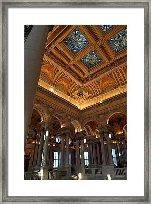 Library Of Congress - Washington Dc - 011321 Framed Print by DC Photographer
