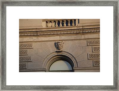 Library Of Congress - Washington Dc - 011328 Framed Print by DC Photographer