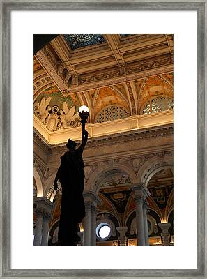 Library Of Congress - Washington Dc - 01134 Framed Print by DC Photographer