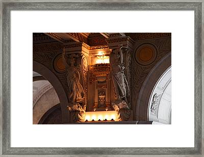Library Of Congress - Washington Dc - 01137 Framed Print by DC Photographer
