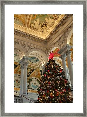 Library Of Congress - Washington Dc - 01139 Framed Print by DC Photographer