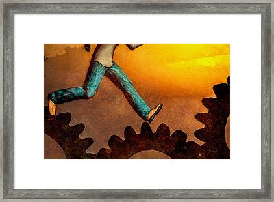 Life Again Framed Print by Bob Orsillo