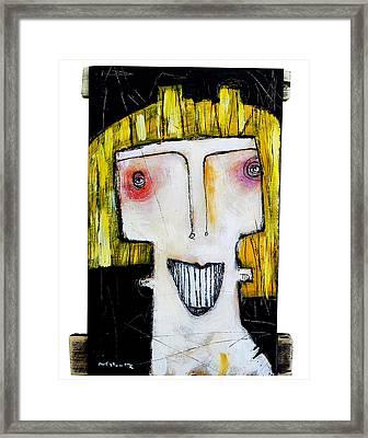 Life As Human Number Thirteen Framed Print by Mark M  Mellon