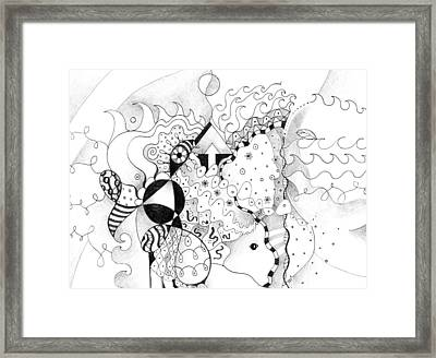 Life As One Framed Print by Helena Tiainen