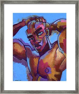 Life Force Framed Print by Douglas Simonson