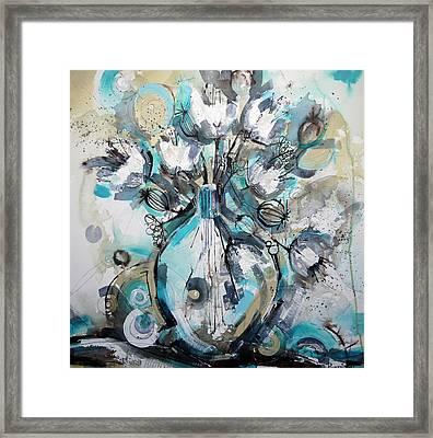 Life In A Vase Framed Print by Irina Rumyantseva
