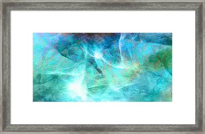 Life Is A Gift - Abstract Art Framed Print by Jaison Cianelli
