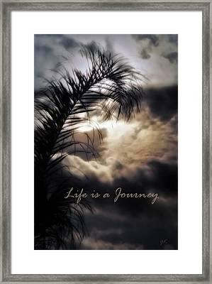Life Is A Journey Framed Print by Gerlinde Keating - Galleria GK Keating Associates Inc