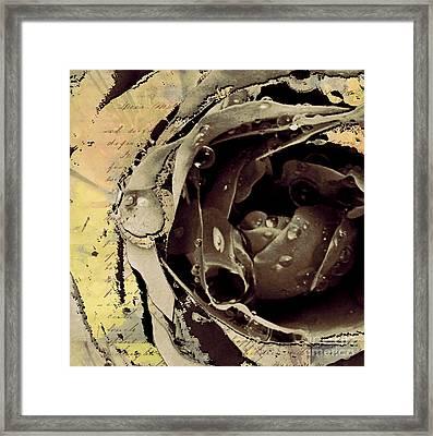 Life Iv Framed Print by Yanni Theodorou
