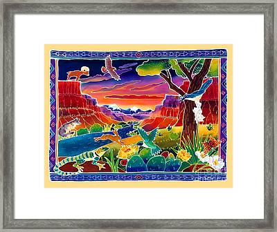 Life Of The Desert Framed Print by Harriet Peck Taylor
