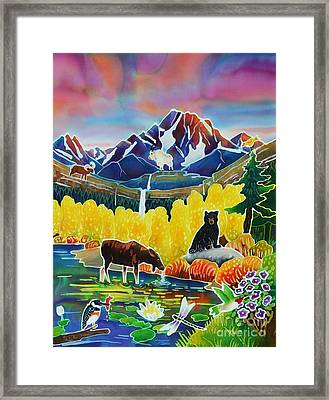 Life Of The Mountains Framed Print by Harriet Peck Taylor