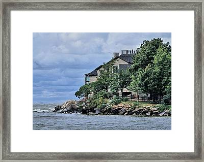 Life On The Lake Framed Print by Dan Sproul