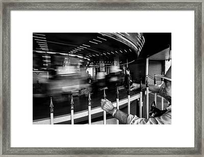 Life Passes By Framed Print by Cecil K Brissette