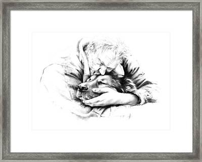 Life Together Framed Print by Natasha Denger