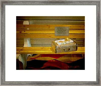 Life Was Like A Box Of Chocolates Framed Print by Barbara Snyder