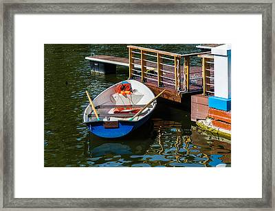 Lifeboat On Duty - Featured 3 Framed Print by Alexander Senin