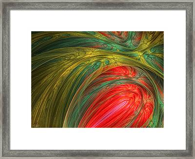 Life's Colors Framed Print by Lourry Legarde