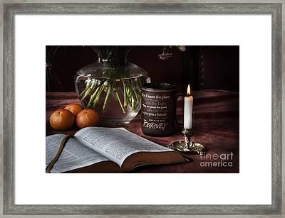 Life's Journey Framed Print by Donald Davis